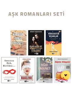 Aşk Romanları Seti - 7 Kitap