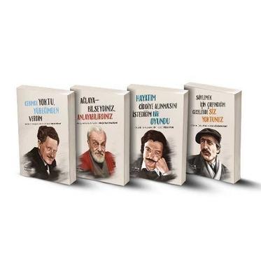 Edebiyatımızın Devleri Biyografi Seti - 4 Kitap
