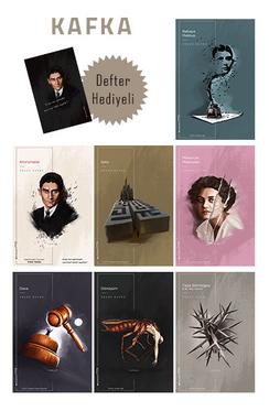 Franz Kafka Seti - 7 Kitap (Defter Hediyeli ve Özel Kutulu)