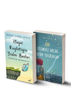 2 Kitap / Hayat Kaybettiğin Yerden Başlar - Seni Özlemekle Başlar Bütün Yolculuklar